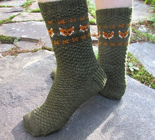 Ravelry: Fox Sox pattern by Michele C Meadows