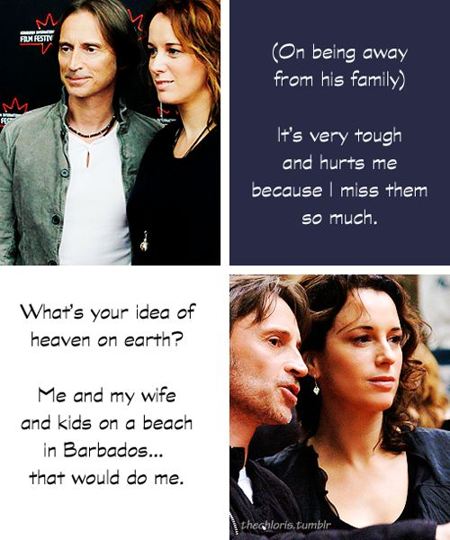 Robert Carlyle talking about his wife and children - for ...
