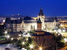 Palace of Culture in Iasi , Romania
