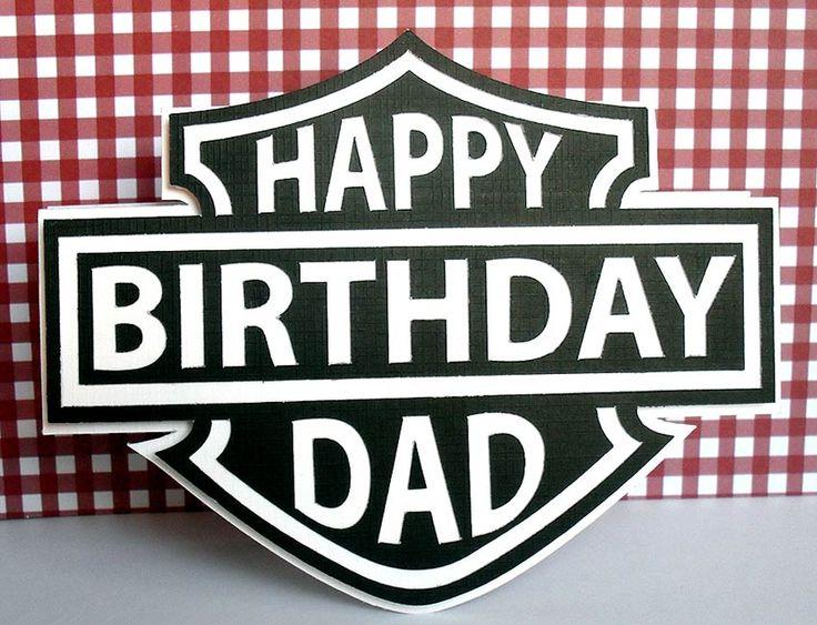 The 25 best Happy birthday harley davidson ideas – Harley Davidson Birthday Cards