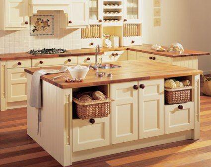 piano cucina legno | schabby casa | Cucine, Piani di lavoro ...