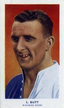 1939 R & J Hill Famous Footballers Series 2 #68 Len Butt Front