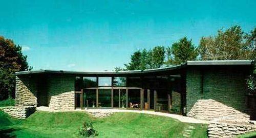 Фрэнк Ллойд Райт, Дом Солнечного полукруга (Solar Hemicycle)