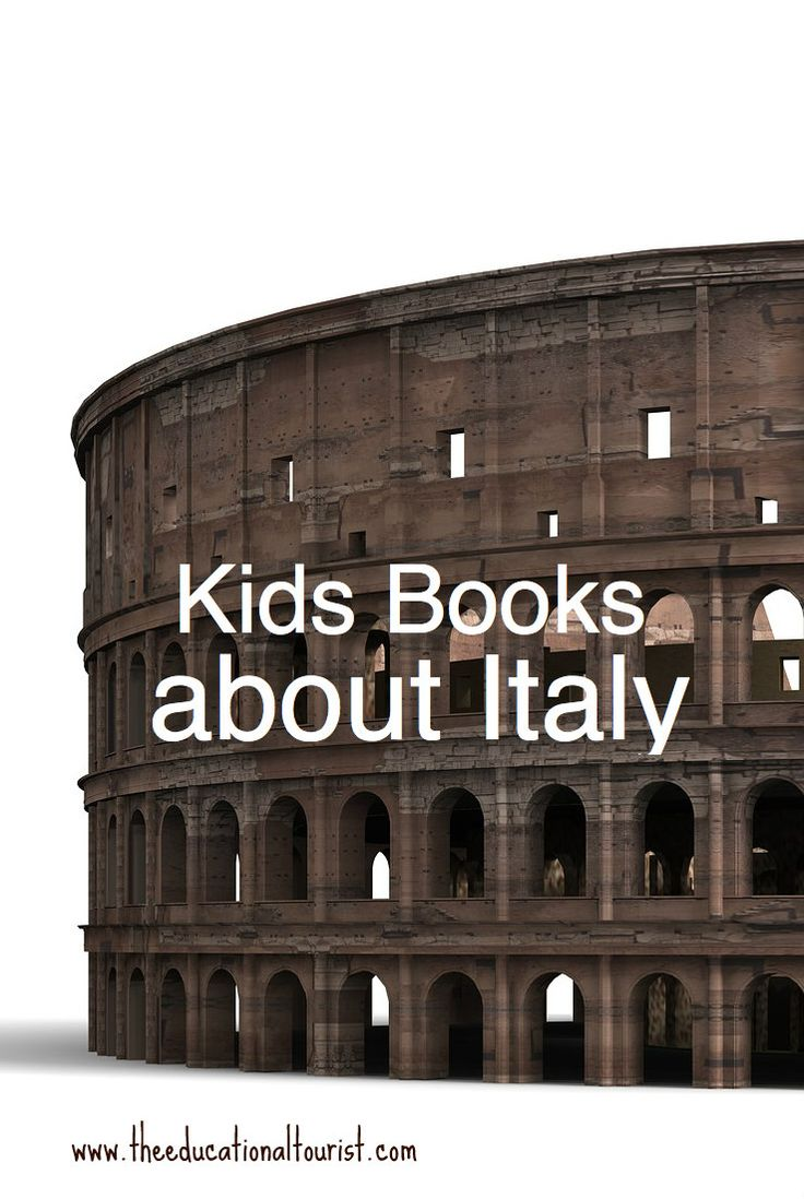Read and learn about your destination! Comprehensive list of kids' books all about Italy. I did the research so you don't have to!