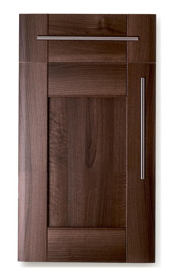 Dark walnut cabinet