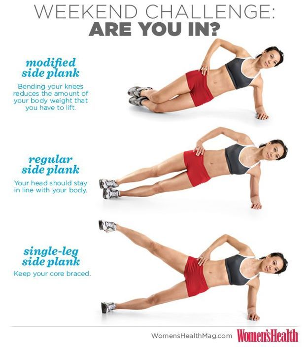 Side Planks!  hold a side plank for 30 seconds (3 sets on EACH side)