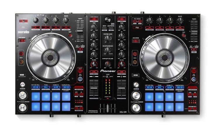 PIONEER DJ  DDJ-SR  2-CHANNEL USB DJ CONTROLLER w/ SERATO DJ SOFTWARE
