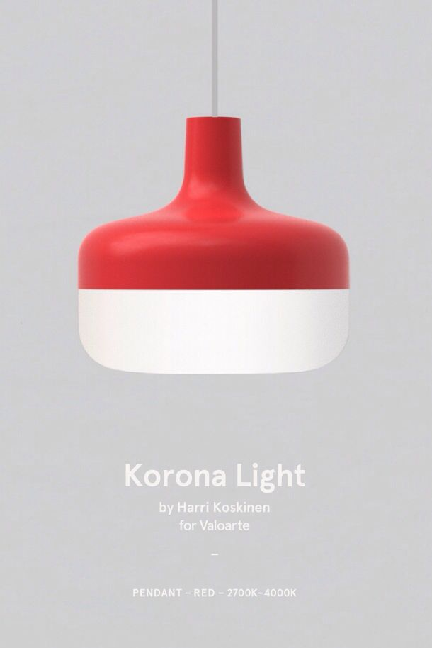 Korona Light by Harri Koskinen for Valoarte