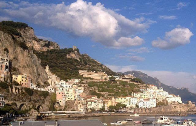 6 Must-See Towns on Italy's Stunning Amalfi Coast: The Town of Amalfi on the Amalfi Coast