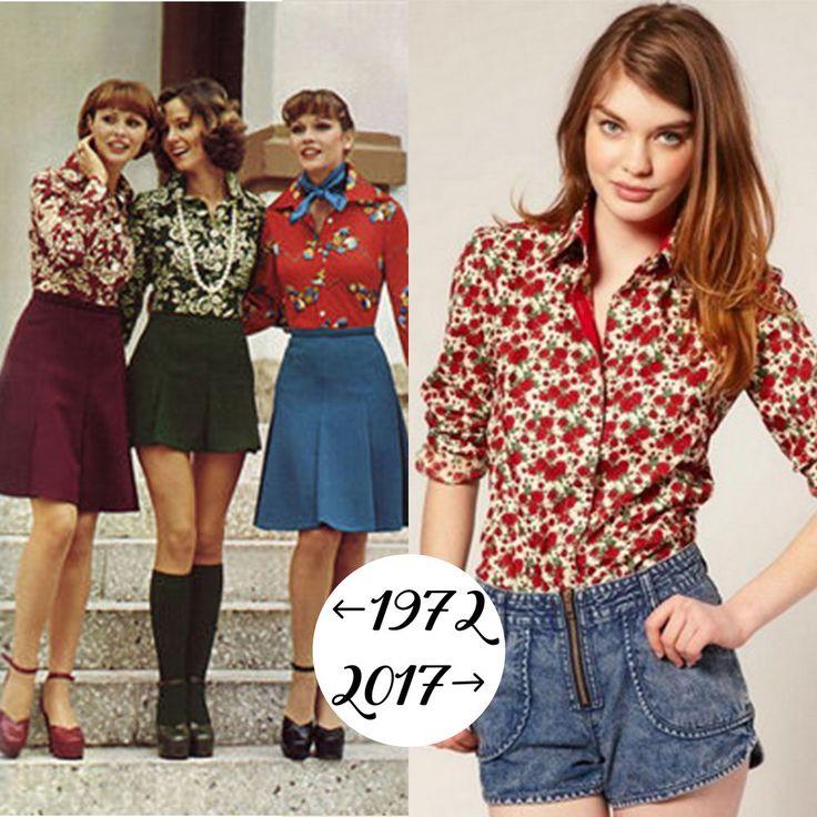 Как известно, моде свойственна цикличность, и в текущем весенне-летнем сезоне 2017 умным и экономным модницам стоит обратить свое внимание на тенденции гардероба 70-80-90-х или даже проинспектировать мамин шкаф — очень может быть, что там найдутся настоящие модные сокровища! Давайте посмотрим, какие же вещи из прошлого готовы ко второ%D