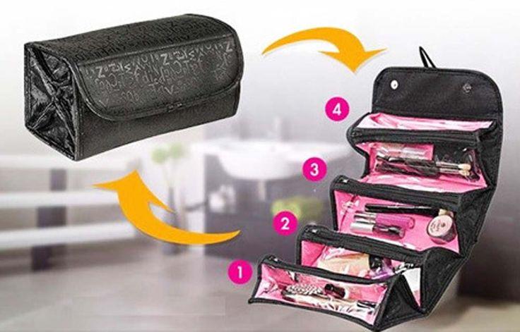 Vendita calda Make Up Organizer Bag Donna Uomo Borsa Da Viaggio Casuale Multi Funzionale sacchetto di Immagazzinaggio Sacchetto Cosmetico in Borsa del sacchetto di Alta BS88