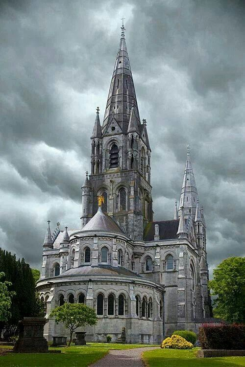 St. Fin Bare's Cathedral, Cork, Ireland..