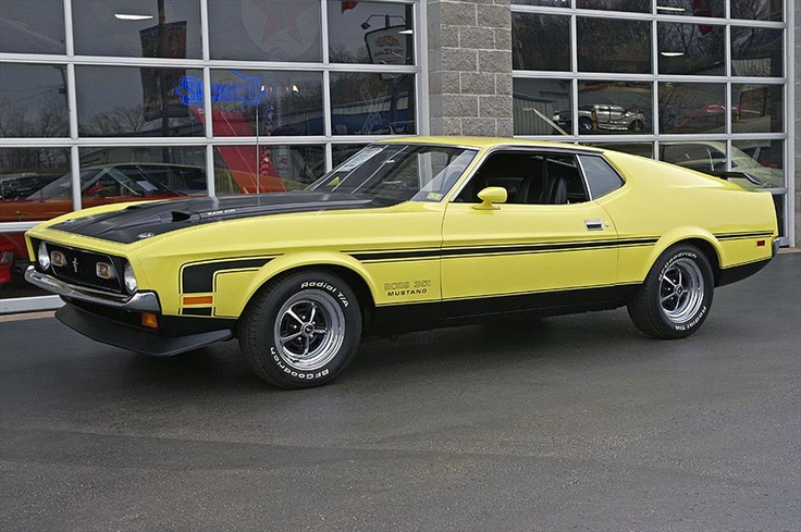 1971 Ford Mustang Fastback Boss 351 at Fast Lane Classic