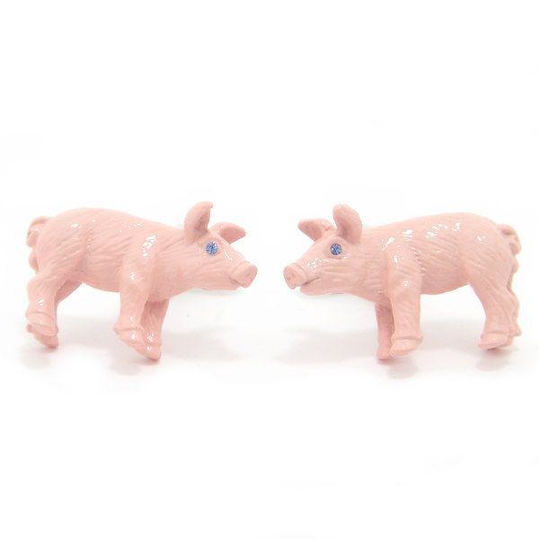 【カフスマニア】【レビューで送料無料】瞳キラリHappyピンクの子豚ちゃんカフス(カフリンクス/カフスボタン)【あす楽対応】【楽ギフ_包装選択】【楽ギフ_メッセ入力】【楽天市場】
