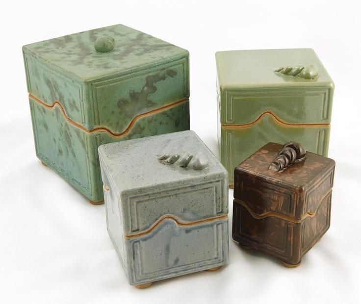 Ceramic Boxes | Indiana Artisan
