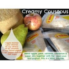 Creamy Cous Cous Pudding