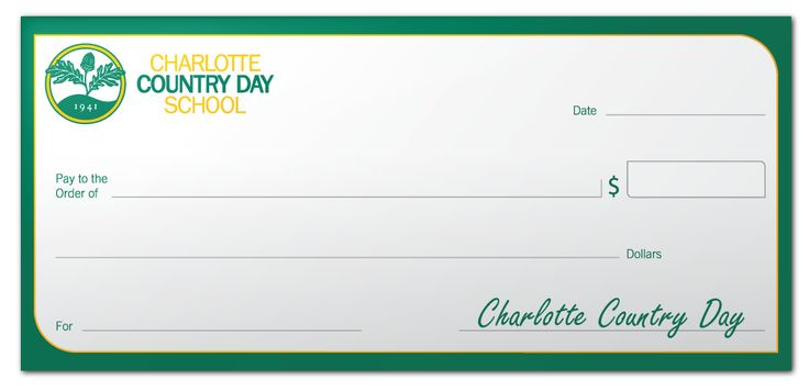 Charlotte Country Day School Dry Erase Faux Check - https://dryerasedesigns.com/charlotte-country-day-school-dry-erase-faux-check/