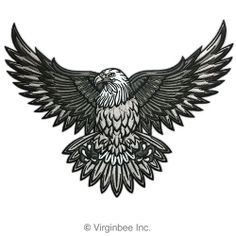 Cool eagle tattoo would use it for chest or back tattoo