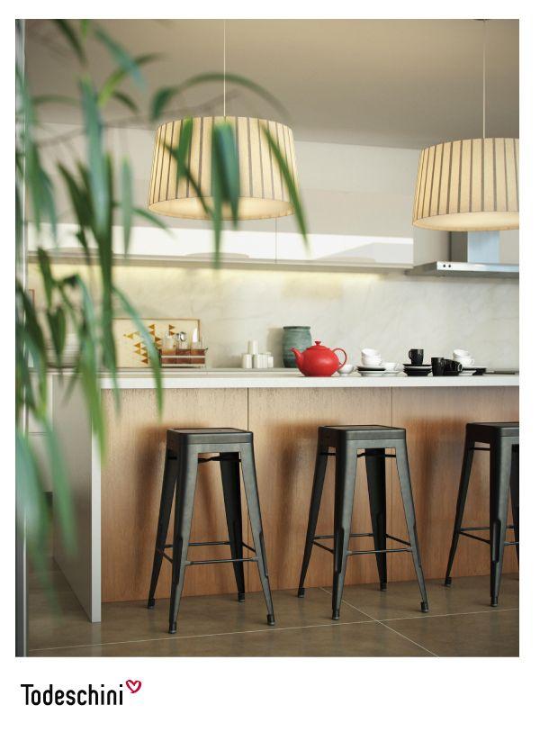 Diseños de cocinas Todeschini inspiradoras y perfectas para el medio ambiente gourmet, para experimentar nuevas recetas y descubrir sabores inigualables. #Diseñodeinteriores #Decoración #Todeschini #ambientes #mueblesamedida #arquitectura #cocinas