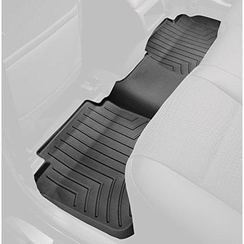 WeatherTech Custom Fit Rear FloorLiner for Mazda 3 (Black) - Black