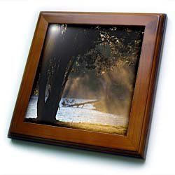 "Alabama, Florence. Lake Wilson, morning fog - US01 WBI0059 - Walter Bibikow - 8x8 Framed Tile by 3dRose. $22.99. Solid wood frame. Cherry Finish. Keyhole in the back of frame allows for easy hanging.. Dimensions: 8"" H x 8"" W x 1/2"" D. Inset high gloss 6"" x 6"" ceramic tile.. Alabama, Florence. Lake Wilson, morning fog - US01 WBI0059 - Walter Bibikow Framed Tile is 8"" x 8"" with a 6"" x 6"" high gloss inset ceramic tile, surrounded by a solid wood frame with pre-drilled keyhole fo..."