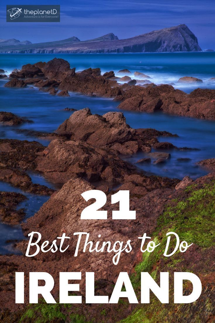 21 of the best things to do in Ireland including the Cliffs of Moher, kissing the Blarney Stone, Rock of Cashel and more! Practical travel tips for your trip to Europe. Blog by The Planet D: Canada's Adventure Travel Couple. Travel in Europe.