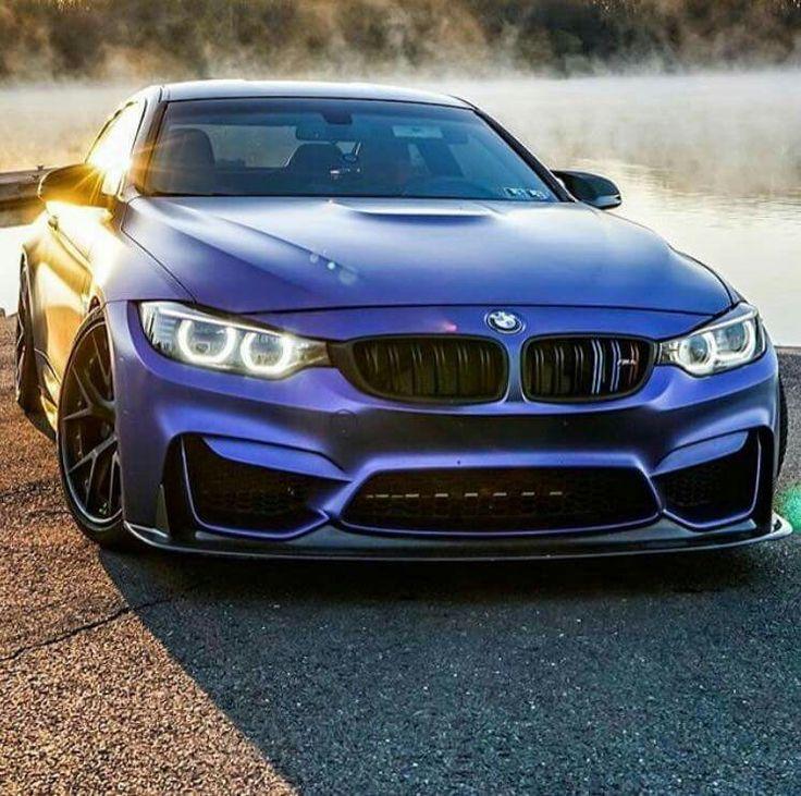 BMW F82 M4 purple