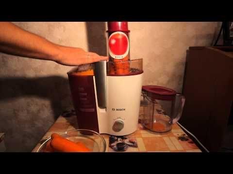 Тест соковыжималки Bosch MES20C0 - YouTube