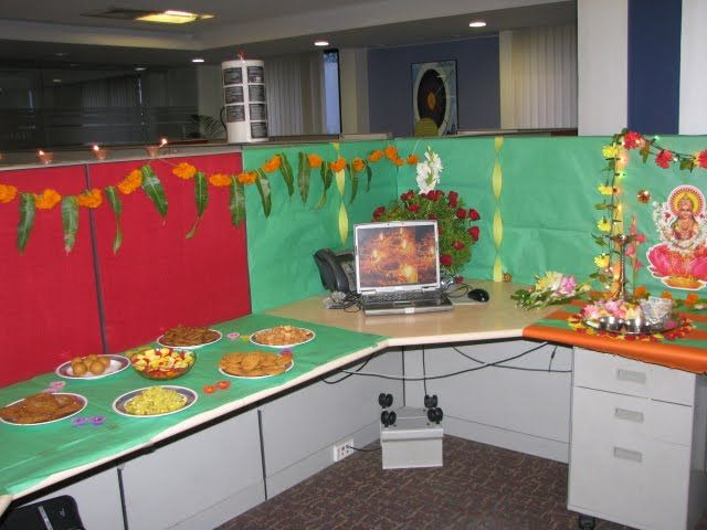 17 best images about cubicle designs on pinterest for Cubicle theme ideas