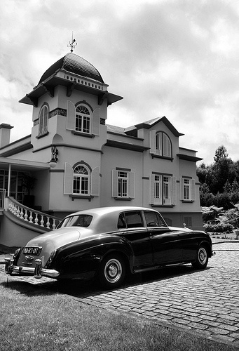 "Rolls Royce Silver Cloud in ""Santo da Serra"" at Porto Bay Serra Golf Hotel - Madeira Island"