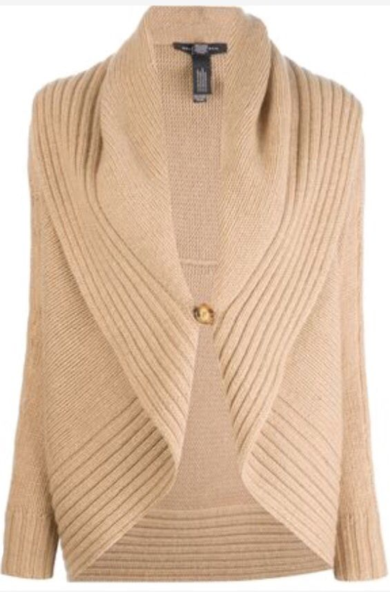 Ralph Lauren Black Label Shawl Collar Cardigan