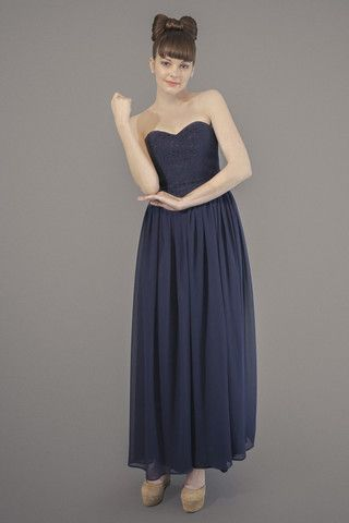 Infinite Love Maxi Dress - Navy – Blackeyed Susan