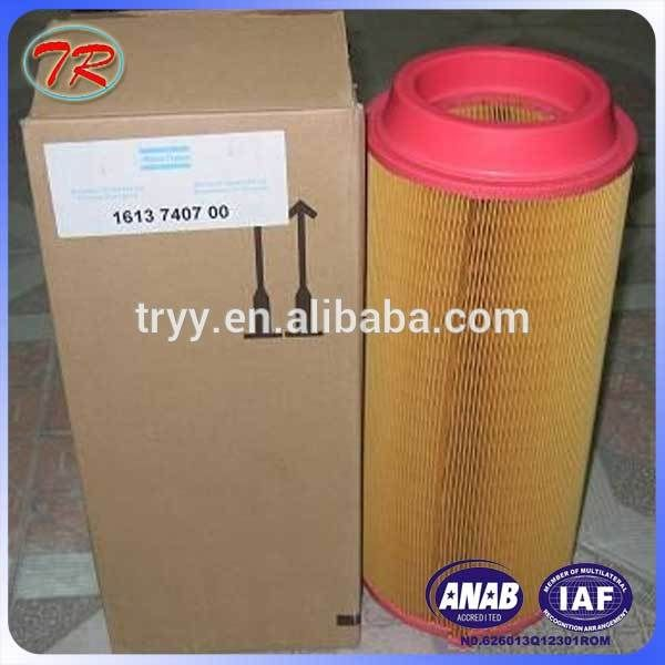 China suppliers 1613740700 atlas copco compressor filter/air filter for compressor