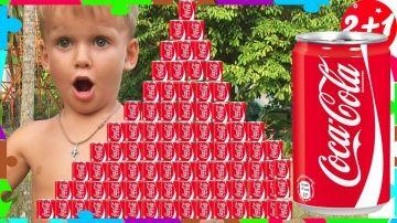 Bad Baby  КОКА КОЛА ЧЕЛЛЕНДЖ! ГИГАНТСКАЯ ПИРАМИДА ИЗ Coca Cola! ПЕПСИ AMAZING PEPSI CHALLENGE! http://video-kid.com/20749-bad-baby-koka-kola-chellendzh-gigantskaja-piramida-iz-coca-cola-pepsi-amazing-pepsi-challenge.html  Малыши выпили много Кока колы, что у них животик превратился в кока колу (пепси) и сделали гигантскую пирамиду. Самая большая пирамида из Кока колы упала и взорвалась!. Дети играют и веселятся с пирамидой из Кока Колы, пепси. Кола Против вредных деток!Bad Baby  КОКА КОЛА…