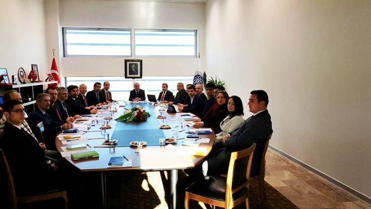 """Odamız Yönetim Kurulu Başkan Yardımcısı İbrahim Gönül, """"KÜSİ Planlama ve Geliştirme Kurulu Toplantısı""""na Katıldı"""