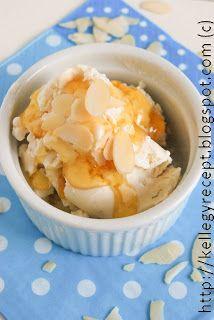 Mandy kertje és konyhája: Mézes görögjoghurt fagylalt