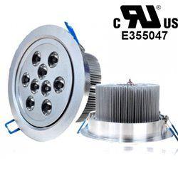 9W Recessed LED Ceiling Downlight Spotlight Lamp Bulb Light UL