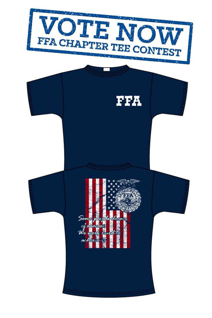 This tee was designed by central ffa from va ffa for Ffa t shirt design
