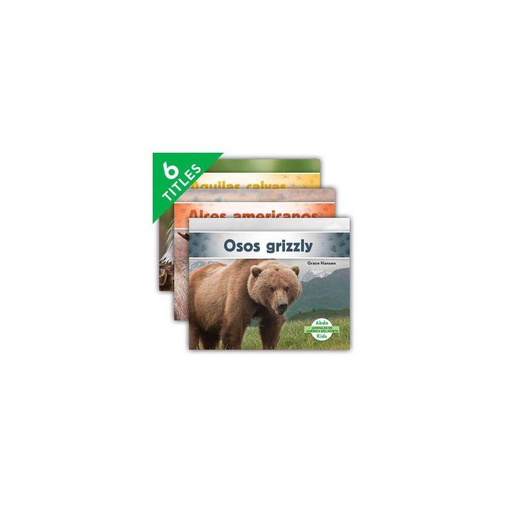 Animales de América del Norte/ Animals of North America (Library) (Grace Hansen)