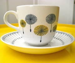 One of the great Finnish companies is the dishware producer Arabia. Isn't this beautiful?