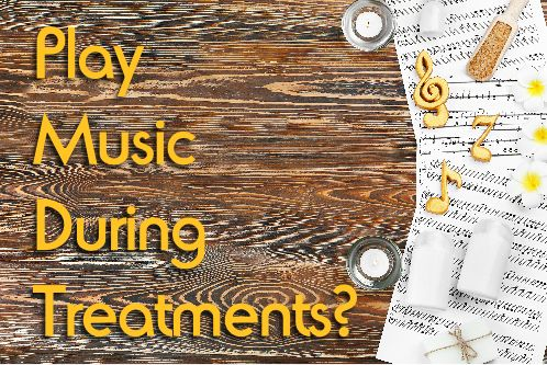 Do you play music during your therapies and treatments? Then read on...