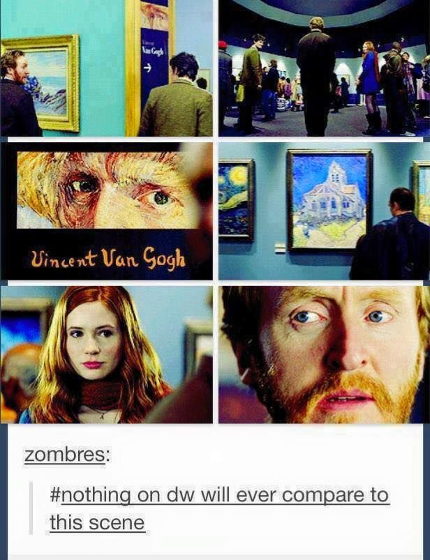 My favorite! I have a love for van Gogh that runs deep so this episode touched my heart!
