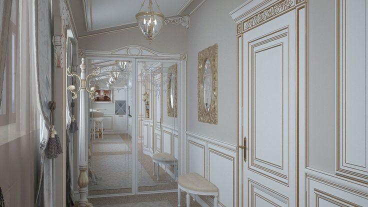 Дизайн интерьера отеля в стиле неоклассика | http://edesign.net.ua/design-interyera-hotel.html