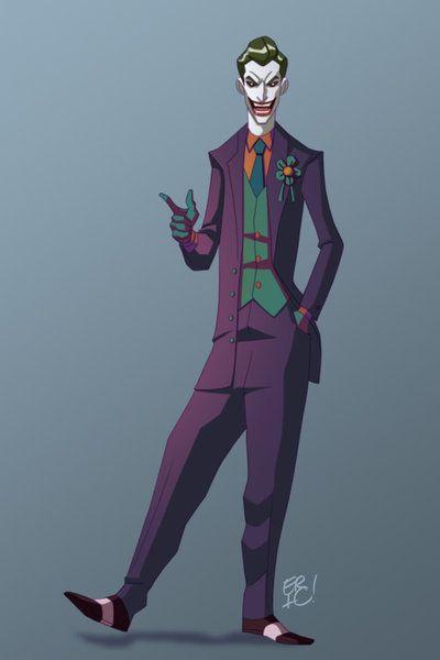 The Joker by EricGuzman.deviantart.com on @deviantART