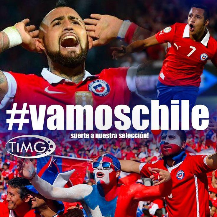 Los guerreros de nuestra Roja ya se colocaron la polera para ir por la victoria, estamos más cerca del mundial. En Rusia 2018 los corazones latirán al ritmo de Chile, una sola voz que representará a todo un pueblo.
