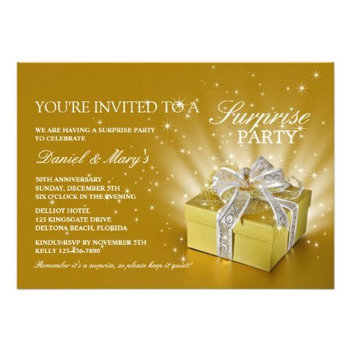 50th Wedding Anniversary Surprise Party Invitation so please read the important details before your purchasing anyway here is the best buyDiscount Deals          50th Wedding Anniversary Surprise Party Invitation today easy to Shops & Purchase Online - transferred directly secure and...
