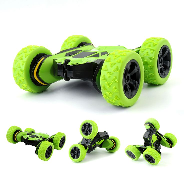 GizmoVine HB 1/28 RC Stunt Car 2.4Ghz RC Car Remote Control, Off Road Electric Race Double Sided 360 Degree Car