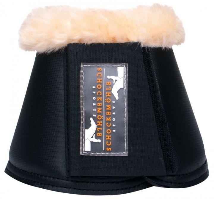 Schockemöhle Sports Springglocken Bell Boots mit Fell