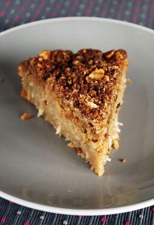» Fondant pomme-coco et streusel aux noix | Clea cuisine