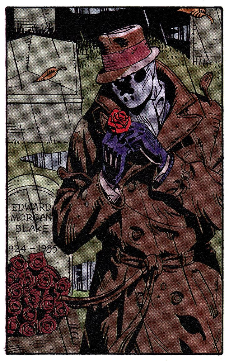 Rorschach in Watchmen #2 (Oct. 1986) - Dave Gibbons & John Higgins
